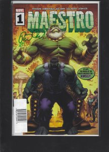 Maestro #1 Signed by Peter David Number 143/225