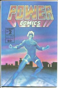 Power Comics #2 1977-Cobalt Blue-Mask-T. Casey Brennan-NM