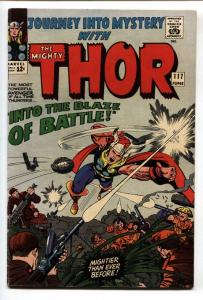 JOURNEY INTO MYSTERY #117 SILVER AGE MARVEL THOR JACK KIRBY FN