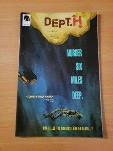 Dept. H #1 ~ NEAR MINT NM ~ 2016 Dark Horse Comics