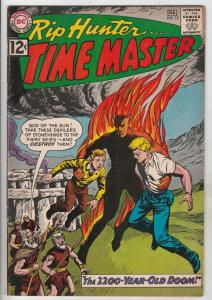 Rip Hunter Time Master #12 (Feb-63) VF+ High-Grade Rip Hunter, Jeff, Bonnie, ...