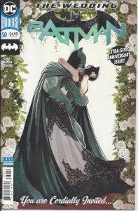 Batman #50 (July 2018) Batman & Catwoman wedding - extra-sized issue! - Joker