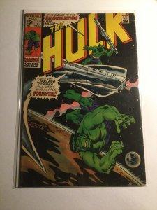 Incredible Hulk 137 very good vg 4.0 Marvel