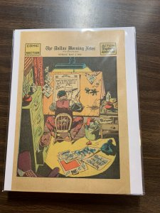 The Spirit Comic Book Section Newspaper Very Fine Or Better 1942 May 3