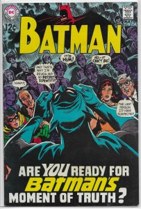 Batman   vol. 1   #211 VG/FN