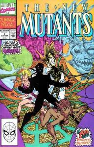 New Mutants (1983 series) Summer Special #1, VF+