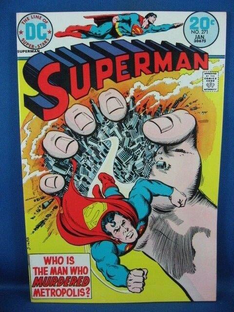 Superman #271 (Jan 1974, DC) F VF