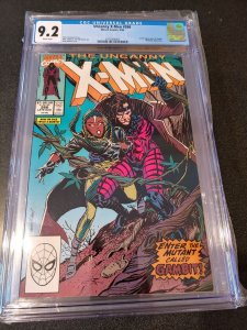 THE UNCANNY X-MEN #266 CGC 9.2 1ST APPEARANCE OF GAMBIT