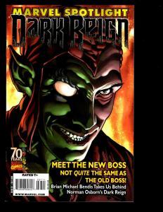 Lot Of 7 Marvel Comics Spotlight: Dark Reign New Nation # 1 Previews +MORE SM1