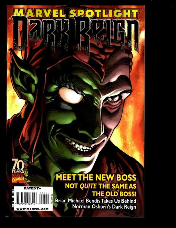 Lot Of 7 Marvel Comics Spotlight: Dark Reign New Nation # 1 Previews