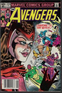 Avengers #234 (Marvel, 1983) VF