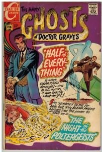MANY GHOSTS OF DOCTOR GRAVES (1967-1982 CH) 18 VG