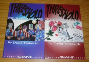 Threshold: the Stamp Collector #1-2 VF/NM complete series - david yurkovich set
