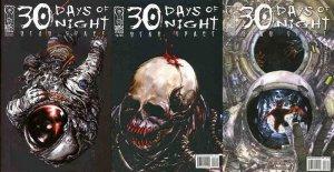 30 DAYS OF NIGHT DEAD SPACE (2006 IDW) 1B,2-3  vgf