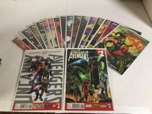 Uncanny Avengers Vol 1  2 Issue Vol 3 Issue 1 2 7-19 Annual 1 Lot Nm Near Mint