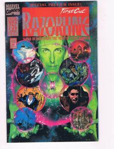 First Cut Razorline SPECIAL PREVIEW ISSUE VG Marvel Comics Comic Book DE5