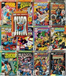 THOR BLOOD & THUNDER (1993) Parts 1-13 COMPLETE XOVER