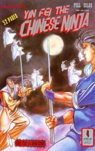 Yin Fei the Chinese Ninja #4 FN; Dr. Leung's | save on shipping - details inside