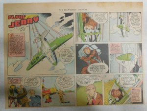 Flying Jenny Sunday Page by Russell Keaton from 9/8/1940 Size: 11 x 15 inches