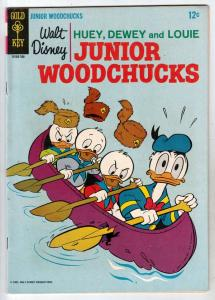 Huey Dewey and Louie Junior Woodchuks #2 (Jan-67) VF High-Grade Huey Dewey Louie