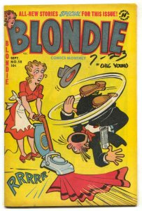 Blondie Comics #58 1953- Harvey Golden Age FN+