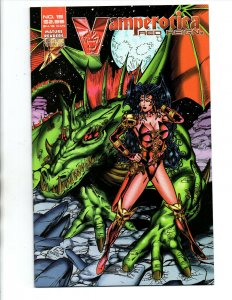 Vamperotica #15 - sexy vampire girl - Brainstorm - NM