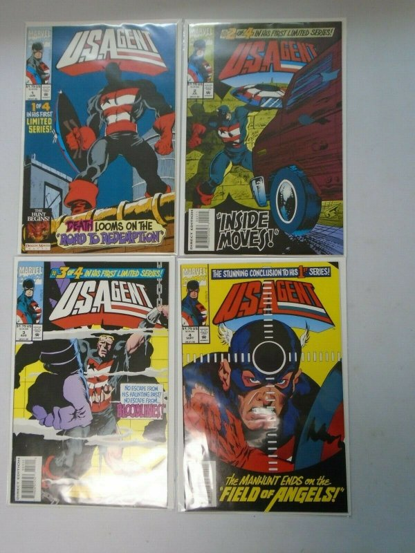Marvel U.S. Agent (1st Series) Set: #1-4 8.0 VF (1993)