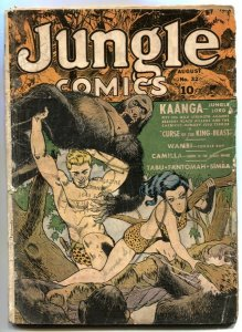 Jungle Comics #32 1942- Fantomah- no back cover