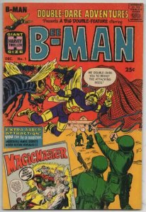 DOUBLE DARE ADVENTURES #1 VG/FN Bee-Man Harvey 1966 more Silver age in store