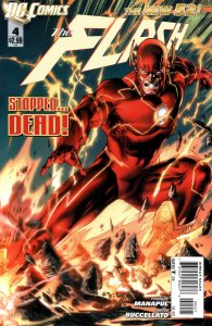 The Flash #4 Variant cover 2011 (NM) stock photo