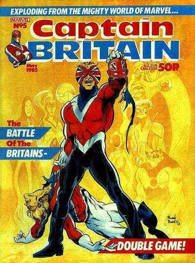 Captain Britain (2nd Series) #5 FN; Marvel | save on shipping - details inside