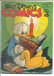 Walt Disney's Comics & Stories #59 1945-Dell-Donald Duck-Carl Barks-Mickey Mo...