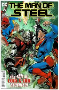 Man of Steel #6 Superman (DC, 2018) NM