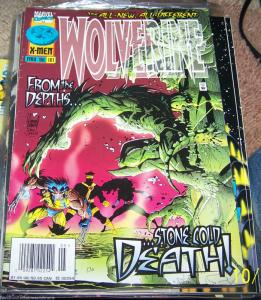 WOLVERINE #101   ELEKTRA marvel  X-MEN LOGAN DEATH