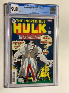 Incredible Hulk 1 cgc 9.8 facsimile edition marvel