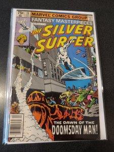 Fantasy Masterpieces Starring Silver Surfer & ADAM WARLOCK  #13 FINE +