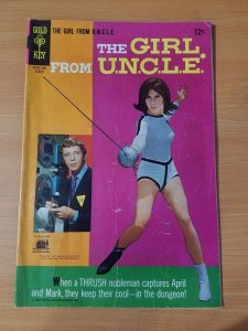 The Girl from U.N.C.L.E. #4 ~ FINE FN ~ (1967, Western Publishing Comics)