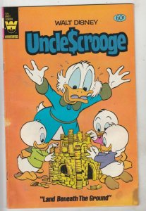 Uncle Scrooge, Walt Disney, Whitman Variant #196 (Mar-82) VG- Affordable-Grad...