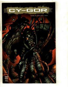 10 Comics Cy-gor 2 Darker Image 1 Angel 1 2 3 Eclipse 1 2 3 Elementals 1 3 EK13