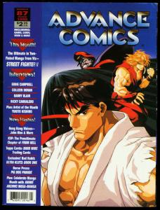 ADVANCE COMICS #87-1996-STREET FIGHTER II-MANGA VG/FN