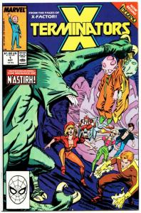 X-Terminators #1 Inferno (Marvel, 1988) NM-