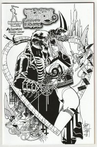 Tarot Witch Of The Black Rose #100 B&W Studio Cvr  (Broadsword, 2016) NM