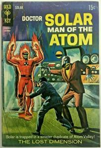 DOCTOR SOLAR MAN OF THE ATOM#25 FN/VF 1968 GOLD KEY SILVER AGE COMICS