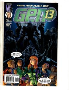 Lot Of 8 Image Comics Gen 13 # 49 50 59 60 61 64 + # 2 Rising + The Fury #2 CR28