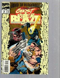12 Comics Ghost Rider 14 17 31 56 60 67 Avenger & Hulk 1 Goblin 1 12 + more EK17