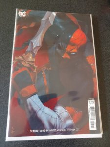 DEATHSTROKE #44 VIRGIN VARIANT NM
