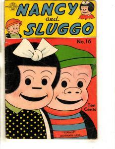 Nancy & Sluggo # 16 FN United Feature Comics Comic Book Ernie Bushmiller JL3
