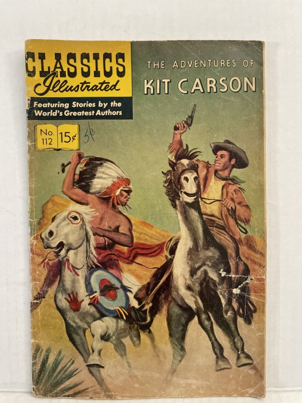 Classics Illustrated #112 (1953) Unlimited Combined Shipping