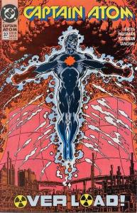 Captain Atom (1987 series) #37, NM- (Stock photo)