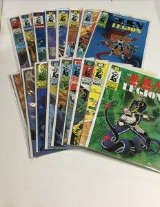 The Alien Legion 1-7 10-14 18 Vol 2 1 3 Nm- Near Mint- Epic Comics